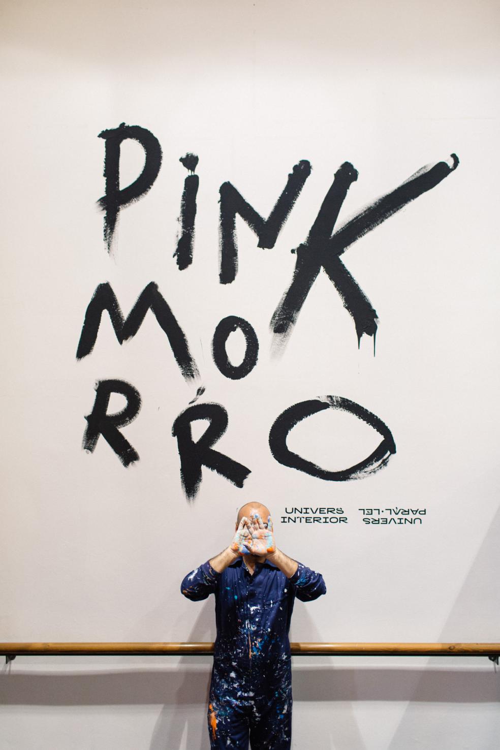 EXPOSICIÓN UNIVERSOS PINK MORRO